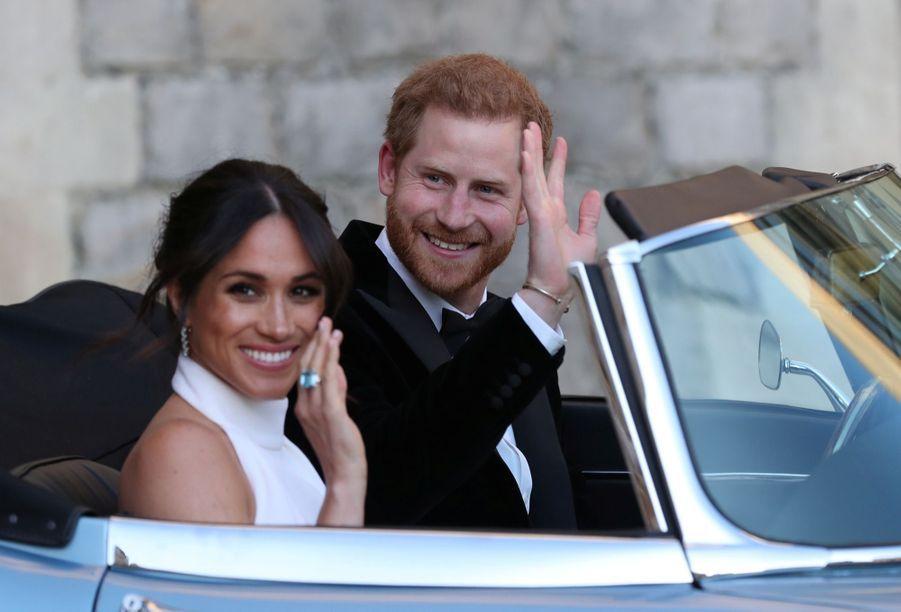 Meghan Et Harry, En Route Vers La Frogmore House, Le Soir De Leur Mariage