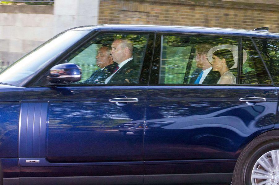 La première sortie officielle de Meghan et Harry à Londres, le 22 mai 2018.