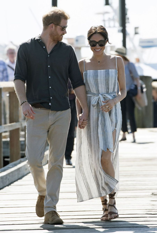 Meghan Markle et le prince Harry àFraser Island, le 22 octobre 2018