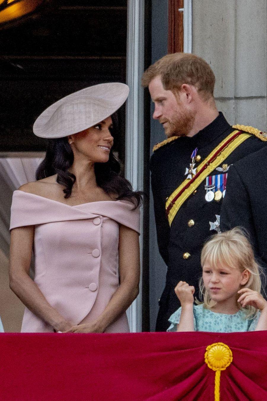 Meghan Markle et le prince Harry àLondres, le 9 juin 2018