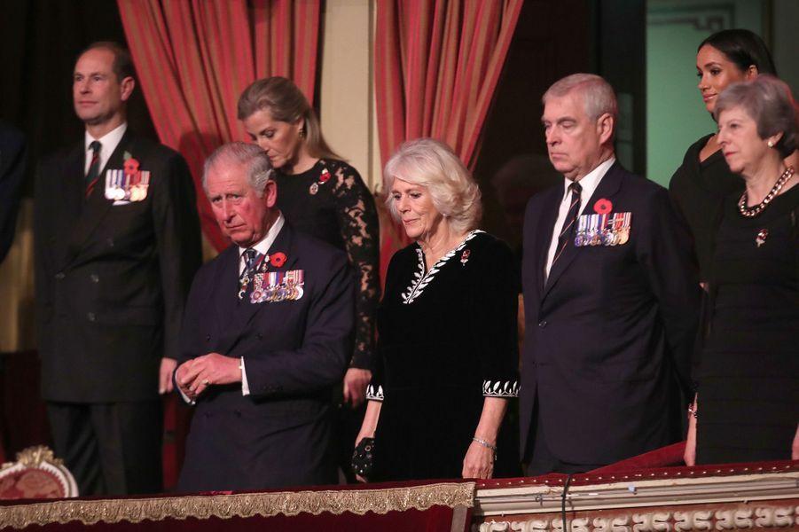 Le prince Charles a assisté au concert du souvenir au Royal Hall de Londres.