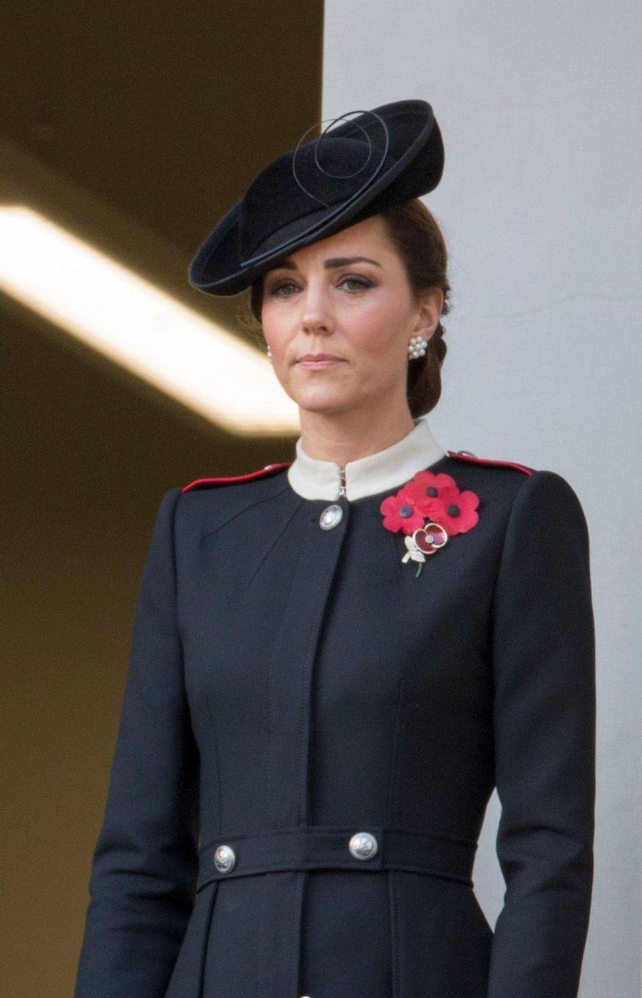 Kate Middletonaux commémorations du 11-Novembre.