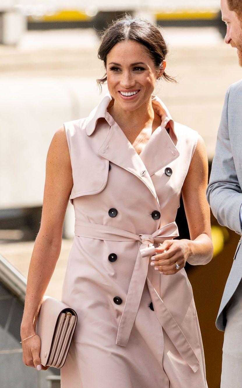 Le prince Harry et son épouse Meghan se sont rendus à l'exposition consacrée à Nelson Mandela au Southbank Centre's Queen Elizabeth Hall de Londres.