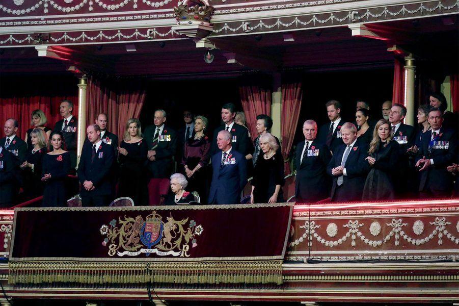 La famille royale ensemble samedi soir