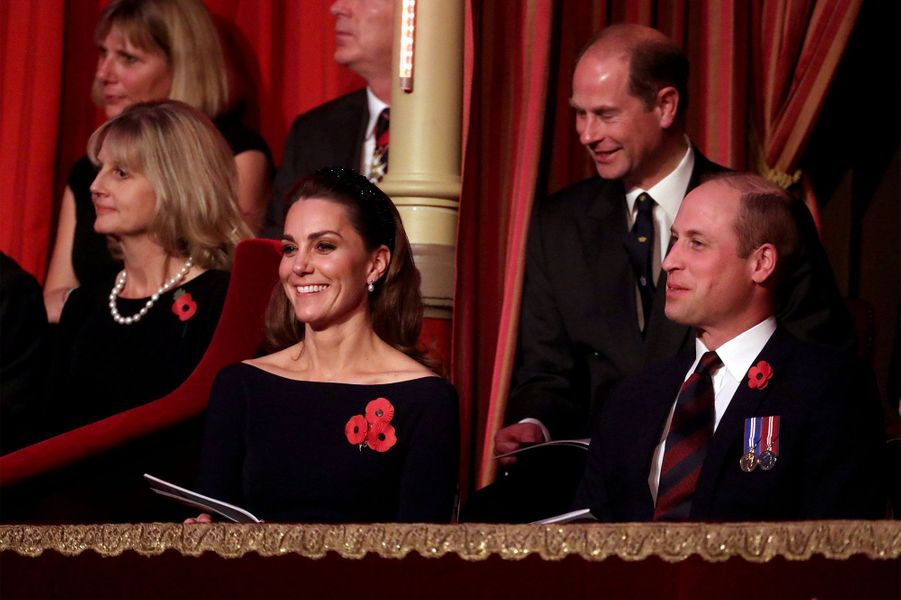 Kate et William samedi soir