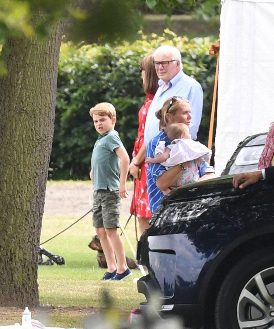 George de Cambridgeau King Power Charity Polo Day à Wokingham (Berkshire) le 10 juillet 2019