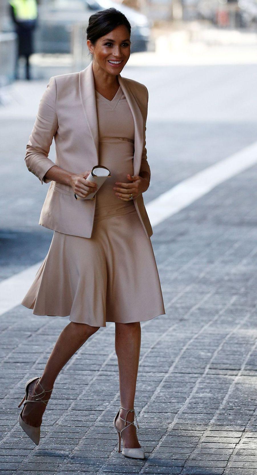 La duchesse de Sussex Meghan à Londres, le 30 janvier 2019