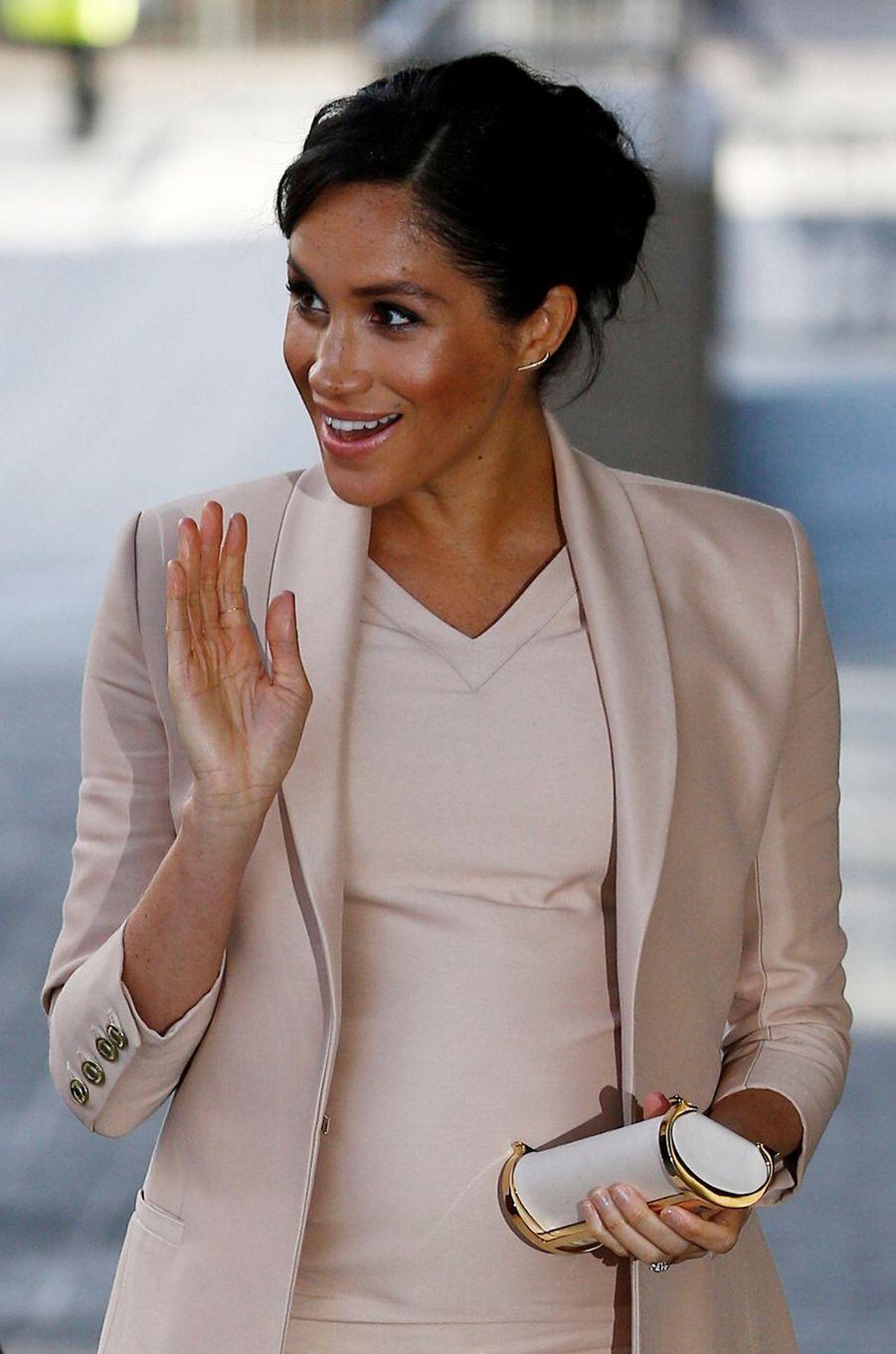 Meghan, la duchesse de Sussex, à Londres le 30 janvier 2019