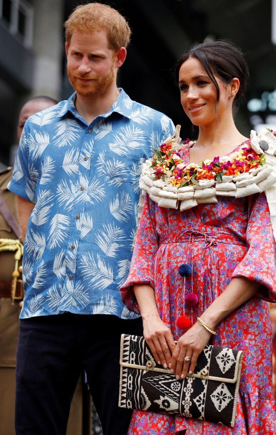 Meghan Et Harry À L'Université Du Pacifique Sud ( 13