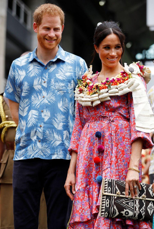 Meghan Et Harry À L'Université Du Pacifique Sud ( 14