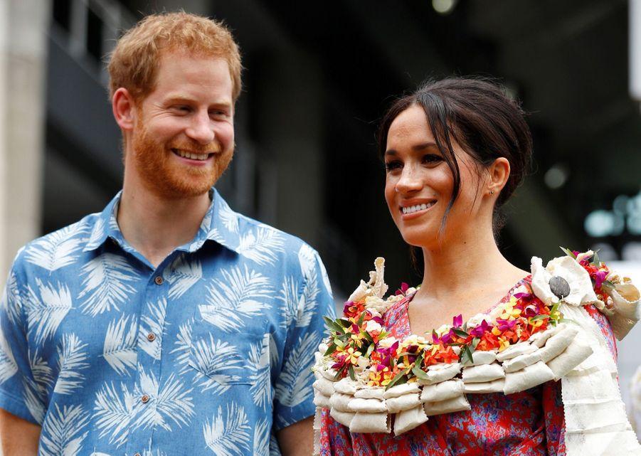 Meghan Et Harry À L'Université Du Pacifique Sud ( 17