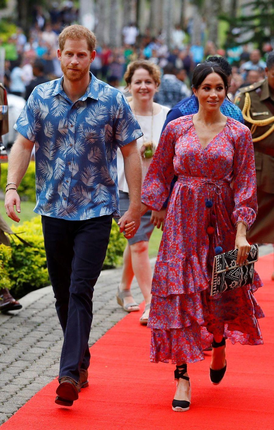 Meghan Et Harry À L'Université Du Pacifique Sud ( 4