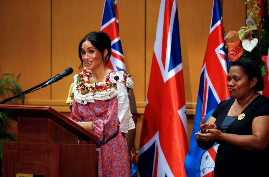 Meghan Et Harry À L'Université Du Pacifique Sud ( 7