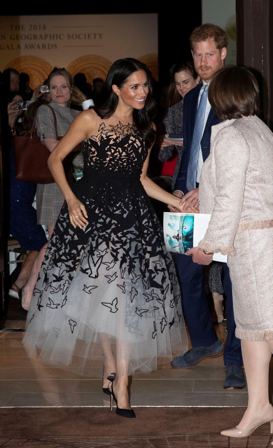 Meghan Et Harry Au Australian Geographic Society Gala Awards ( 1