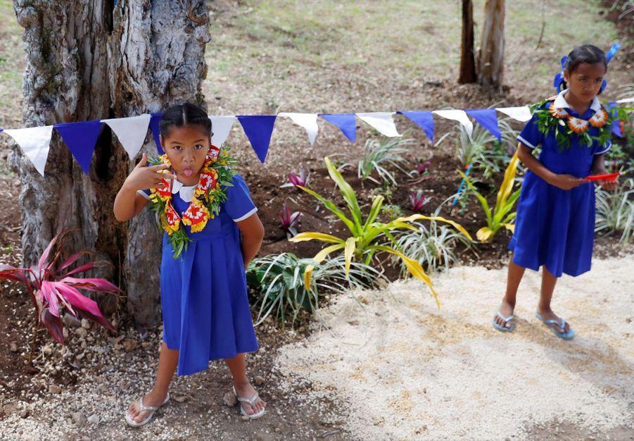 Meghan Et Harry Au Royamue De Tonga ( 13