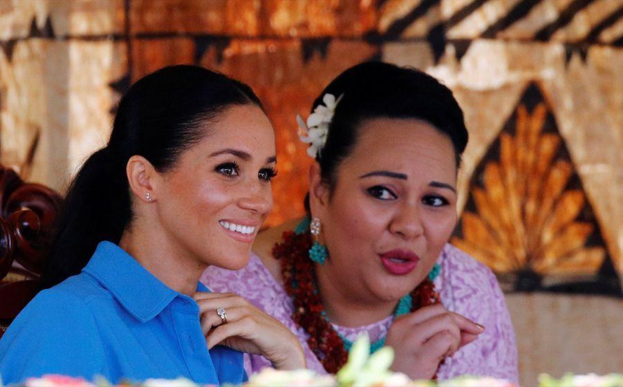 Meghan Et Harry Au Royamue De Tonga ( 19