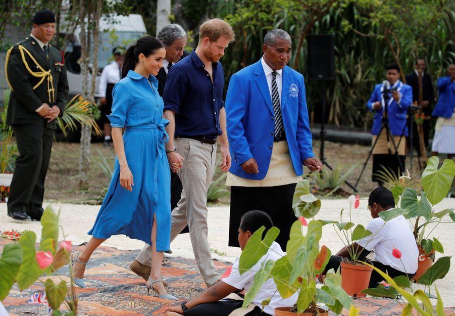 Meghan Et Harry Au Royamue De Tonga ( 25