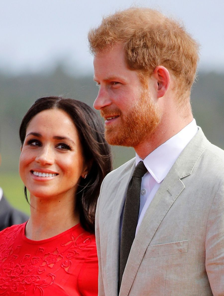 Meghan Et Harry Arrivent Au Royaume Du Tonga ( 8