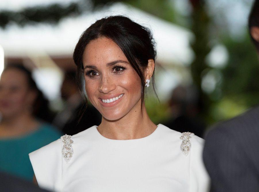 Meghan Et Harry Au Dîner D'Etat Du Roi Tupou VI Du Tonga ( 7