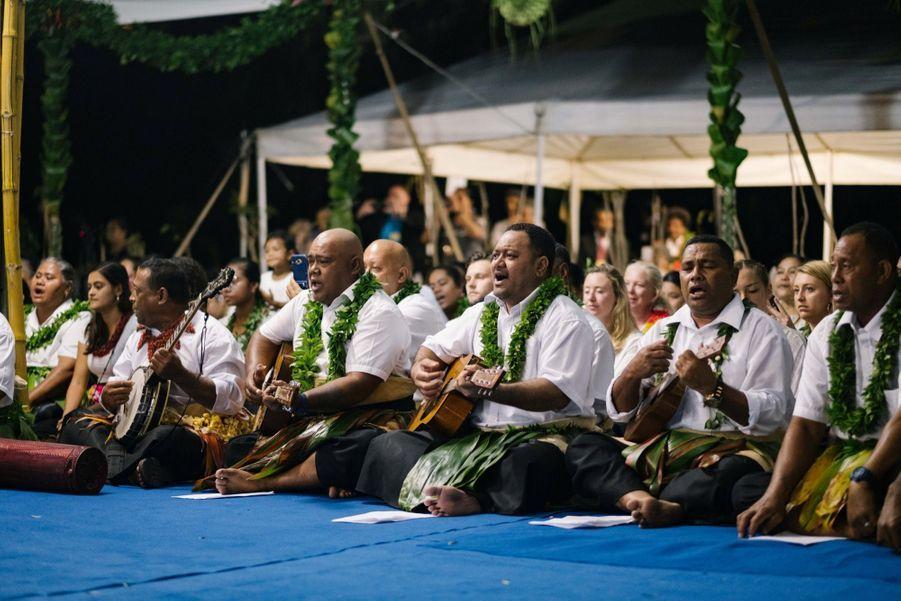 Meghan Et Harry Au Dîner D'Etat Du Roi Tupou VI Du Tonga ( 9