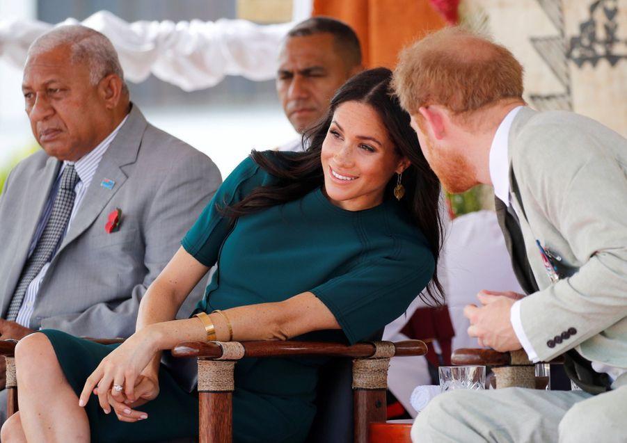 Meghan Et Harry Disent Au Revoir Aux Fidji ( 4