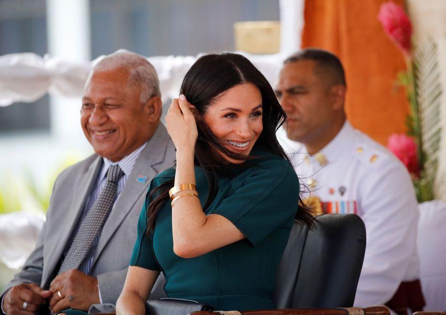 Meghan Et Harry Disent Au Revoir Aux Fidji ( 5