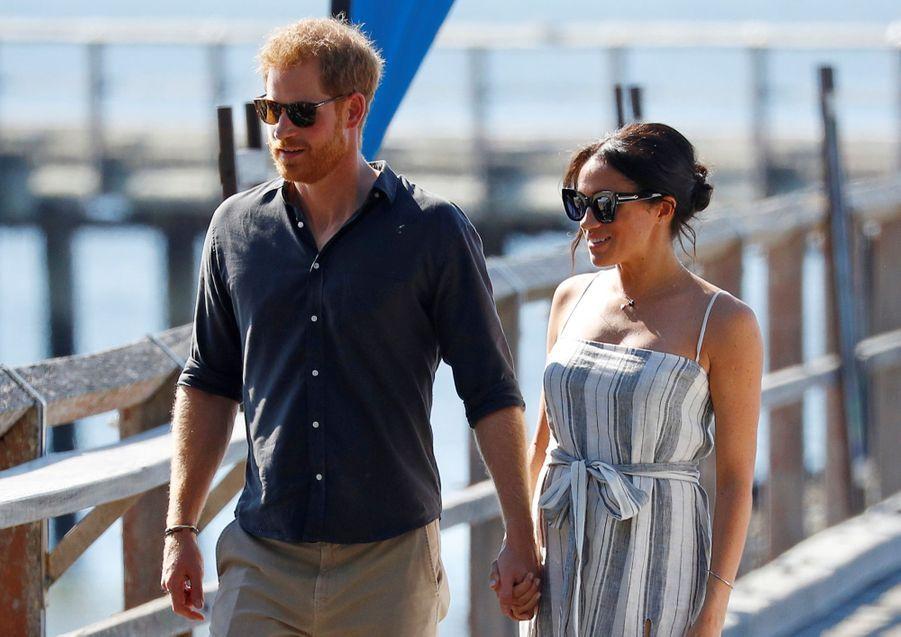 Meghan Et Harry, Promenade À Kingfisher Bay ( 1