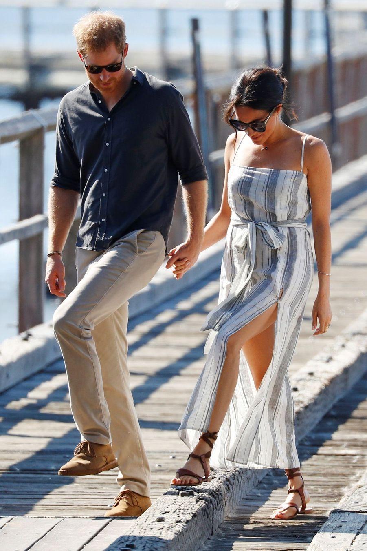 Meghan Et Harry, Promenade À Kingfisher Bay ( 2