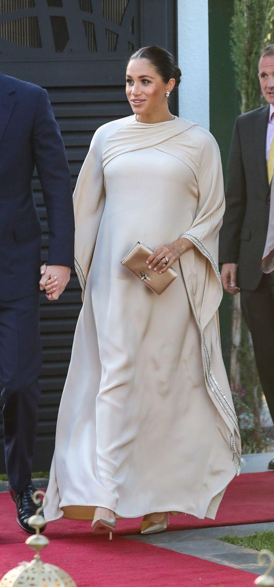 Meghan Markle en Dior au Maroc, le 24 février 2019