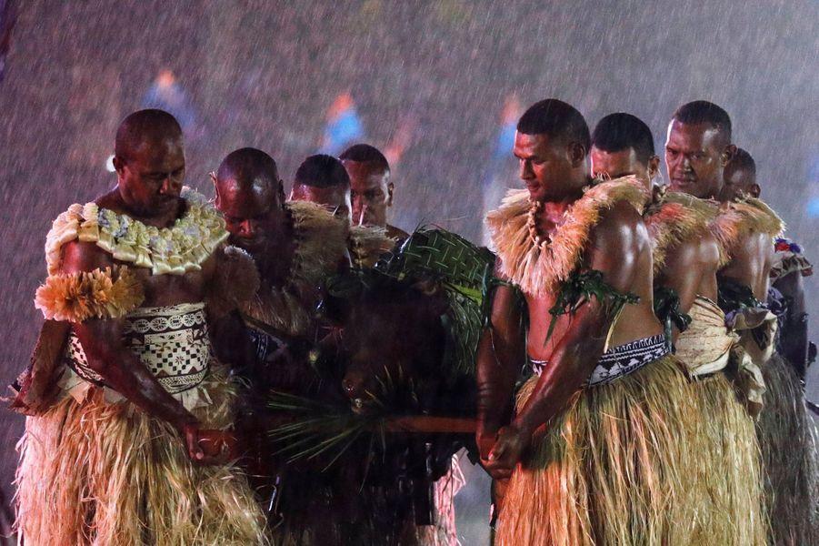 Meghan Et Harry Accueillis Aux Fidji ( 12