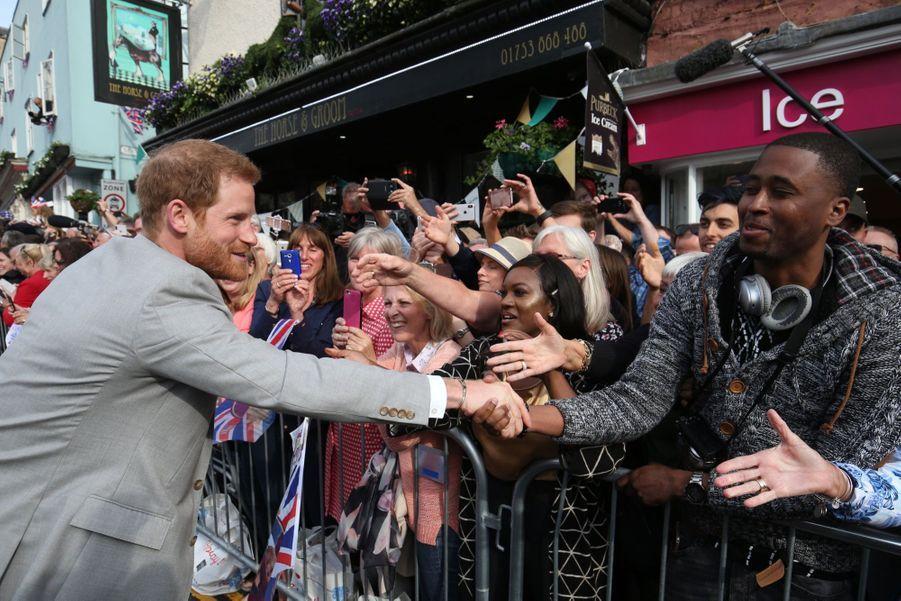 Meghan Markle Et Le Prince Harry, Dernière Sortie Avant Le Mariage ( 3