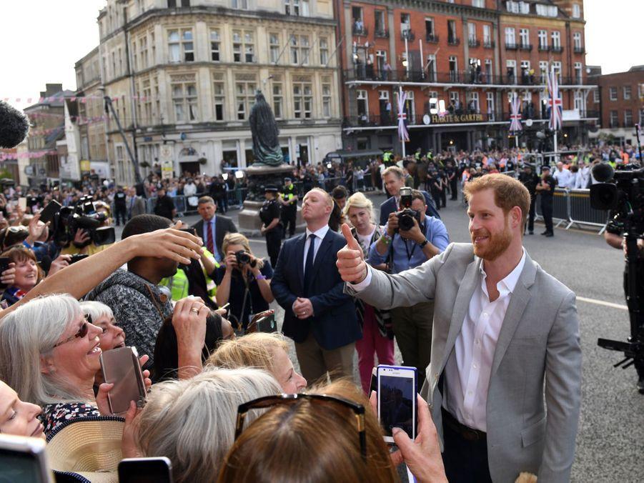 Meghan Markle Et Le Prince Harry, Dernière Sortie Avant Le Mariage ( 34