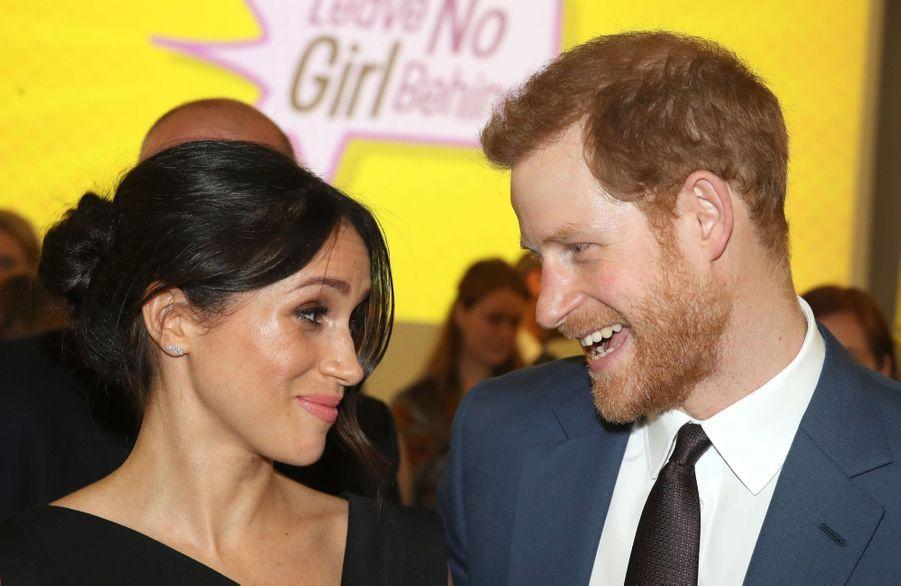 Le Prince Harry Et Meghan Markle En Duo Pour Les Droits Des Jeunes Femmes 1