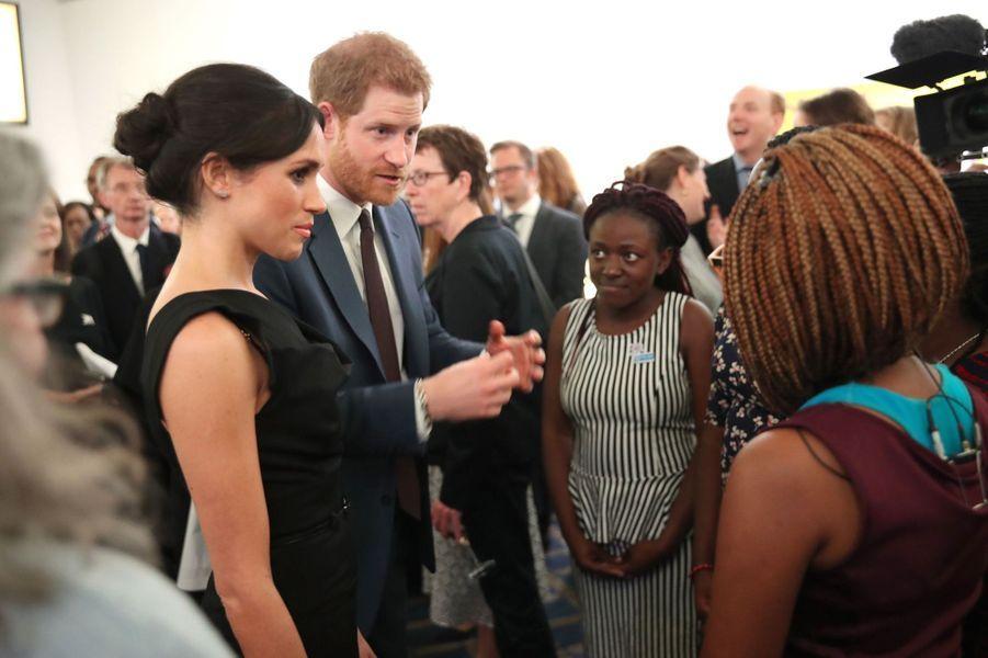 Le Prince Harry Et Meghan Markle En Duo Pour Les Droits Des Jeunes Femmes 10