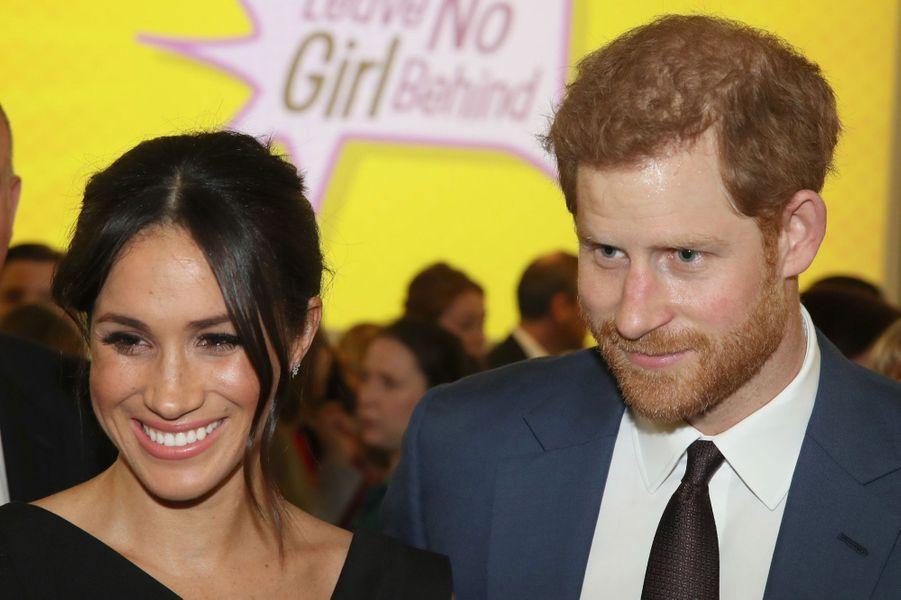 Le Prince Harry Et Meghan Markle En Duo Pour Les Droits Des Jeunes Femmes 2