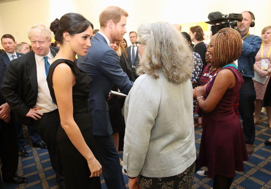Le Prince Harry Et Meghan Markle En Duo Pour Les Droits Des Jeunes Femmes 21