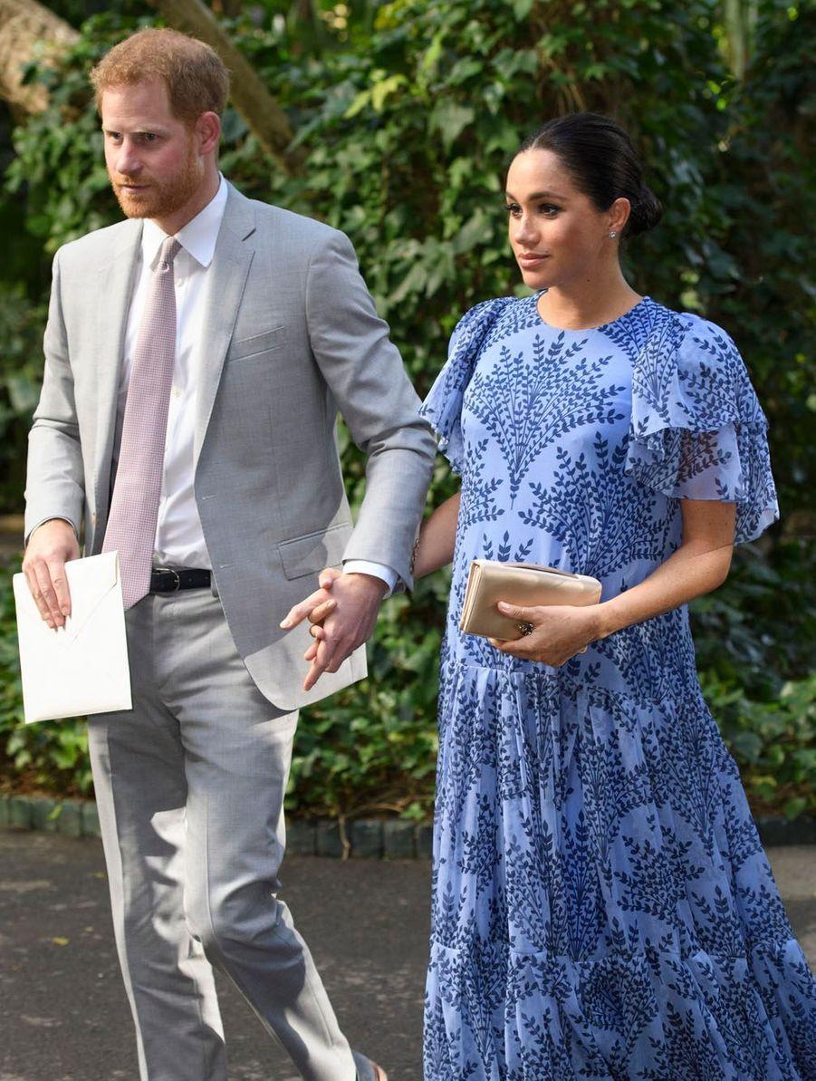 Le Prince Harry et Meghan Markle le lundi 25 février.