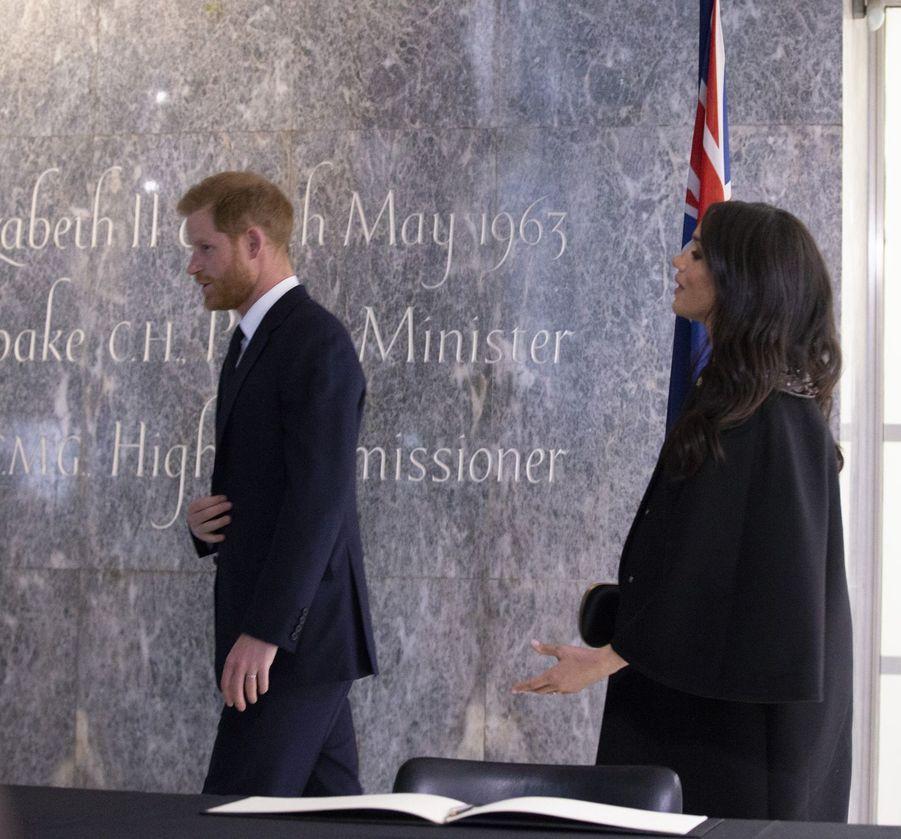 Meghan Markle et le prince Harryà Londres le 19 mars 2019