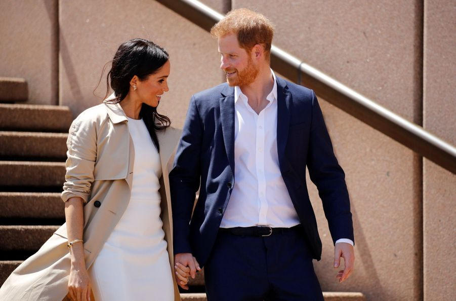 Meghan Et Harry, Première Journée En Australie ( 10