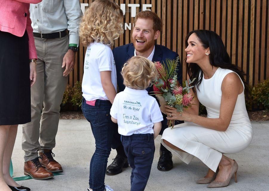 Meghan Et Harry, Première Journée En Australie ( 14