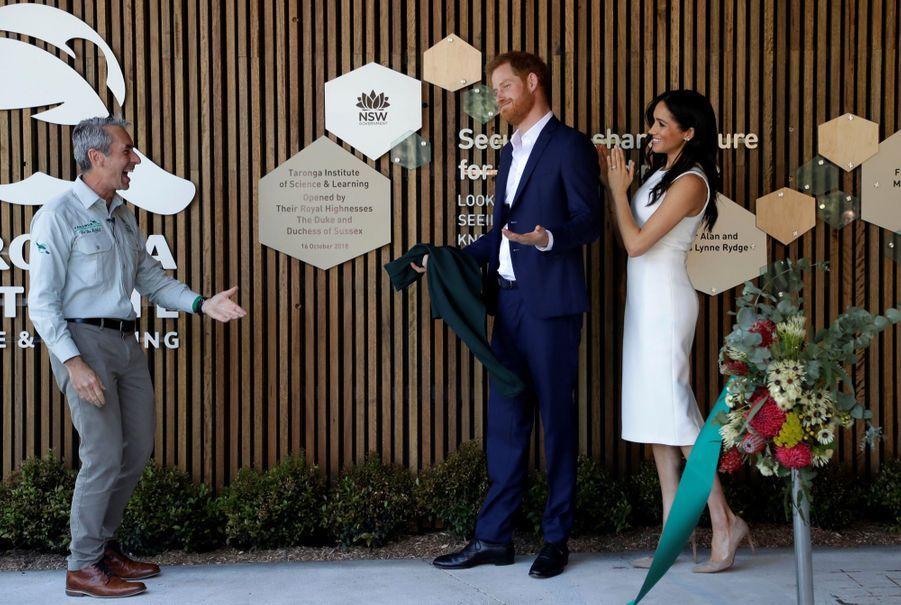 Meghan Et Harry, Première Journée En Australie ( 15