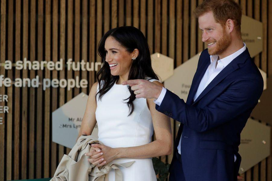 Meghan Et Harry, Première Journée En Australie ( 16
