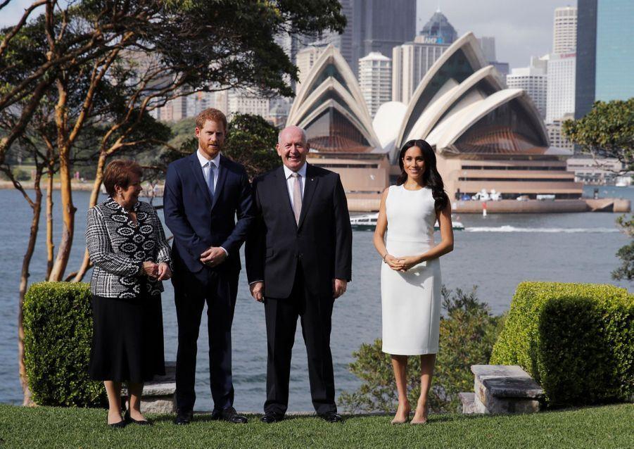 Meghan Et Harry, Première Journée En Australie ( 2