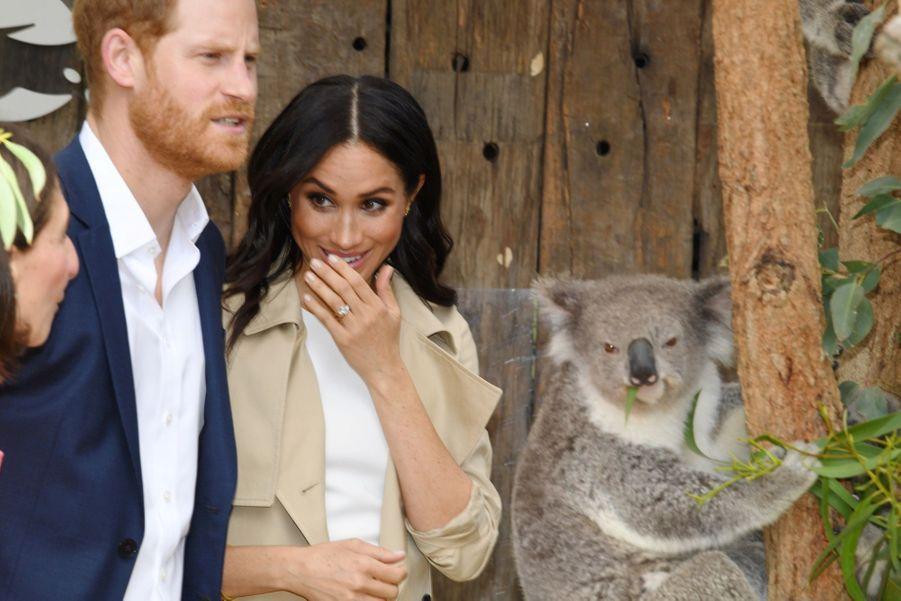 Meghan Et Harry, Première Journée En Australie ( 20