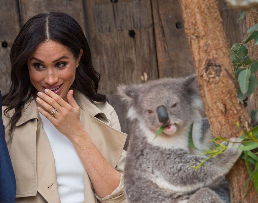Meghan Et Harry, Première Journée En Australie ( 21