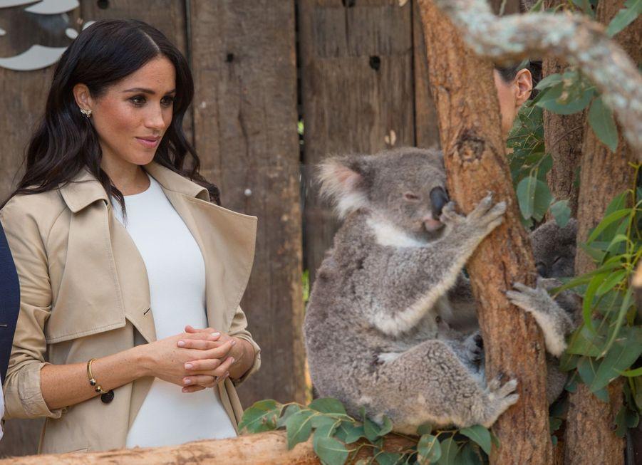 Meghan Et Harry, Première Journée En Australie ( 22
