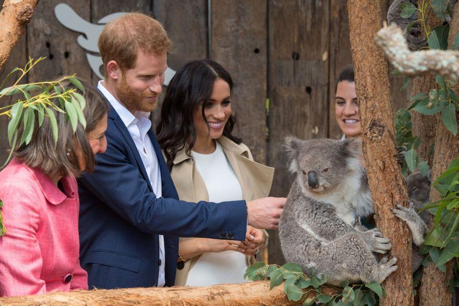 Meghan Et Harry, Première Journée En Australie ( 23