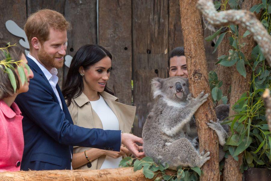 Meghan Et Harry, Première Journée En Australie ( 24