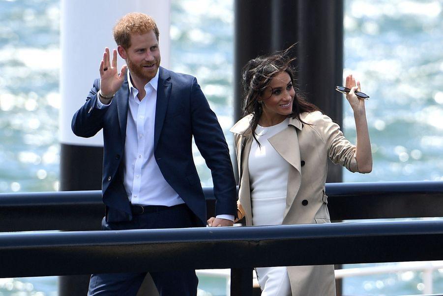 Meghan Et Harry, Première Journée En Australie ( 25
