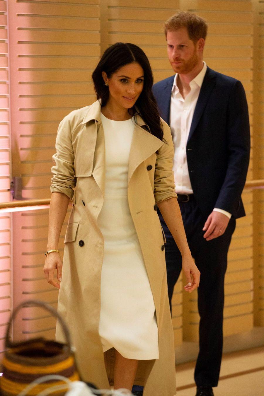 Meghan Et Harry, Première Journée En Australie ( 29